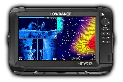 High-performance Lowrance Hds Carbon Fishfinder