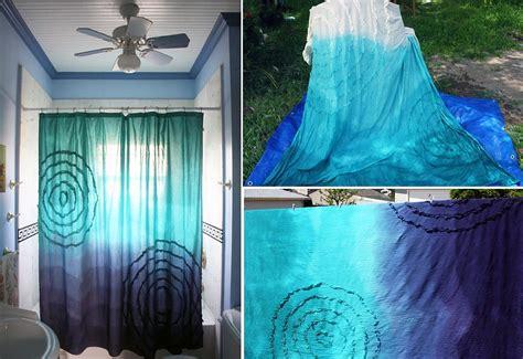 budget bathroom makeover  creative diy shower curtains