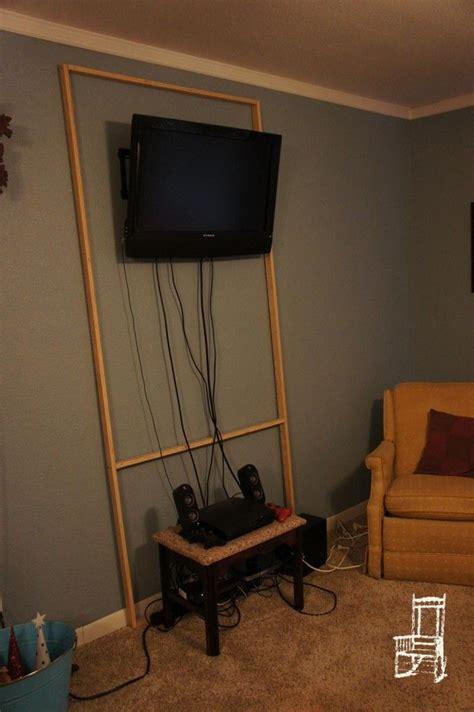 hiding cables ideas  pinterest hide
