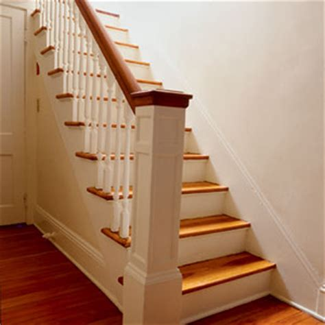 replacing a banister and spindles replacing balusters stairs interior this house
