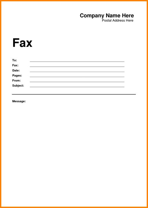 Free Fax Cover Letter Templates by 6 Free Fax Cover Sheet Ledger Review