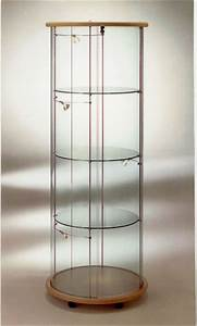 Vitrine En Verre : vitrine ronde sv3 ~ Teatrodelosmanantiales.com Idées de Décoration