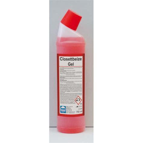 starker kalk im wc closettbeize gel sehr starker wc reiniger l 246 st urinstein u kalk 750 ml ebay