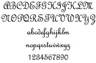 French Script Stencil Font