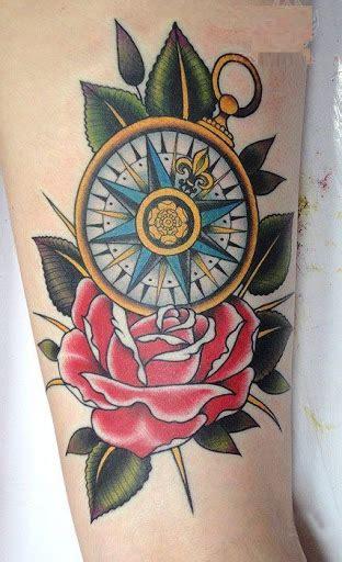 compass tattoo designs  ideas