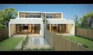 Contemporary Duplex Home Designs