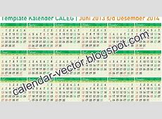 Template Kalender CALEG, PARTAI dan AKADEMIK dari Juli2013