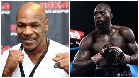 Mike Tyson Says Deontay Wilder Should Grow Up - Boxing Daily