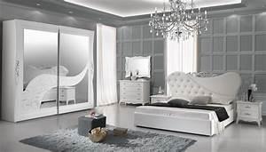 Schlafzimmer Weiß Gold : bett 180x200cm gisell in weiss edel luxus schlafzimmer gis b180 ~ Indierocktalk.com Haus und Dekorationen