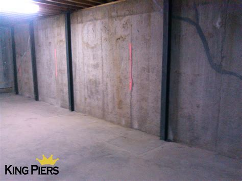 Repairing Basement Wall Cracksking Piers Foundation Repair