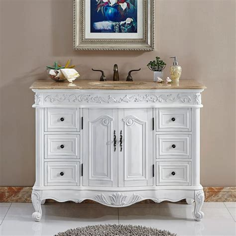 lavatory bathroom single sink vanity cabinet