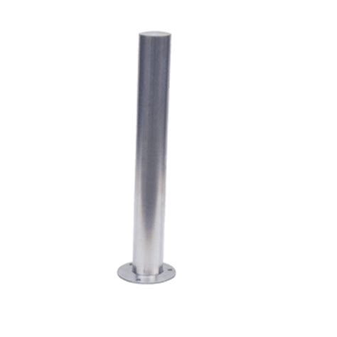 stainless steel pole with base plate alkobel