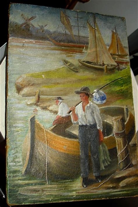painted  unsigned painting  early