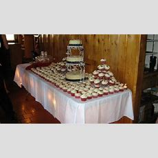 Cake Table Set Up  Picture Of Silver Rapids Lodge, Ely