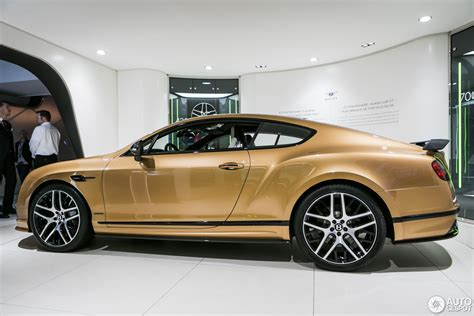 bentley geneva geneva 2017 bentley continental supersports