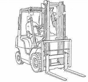 Nissan Forklift Internal Combustion D01    D02 Series Service Repair Manual Download