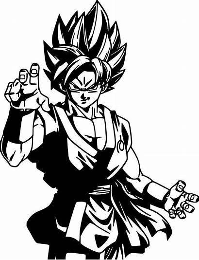 Goku Decal Vinyl Dragon Ball Super Saiyan