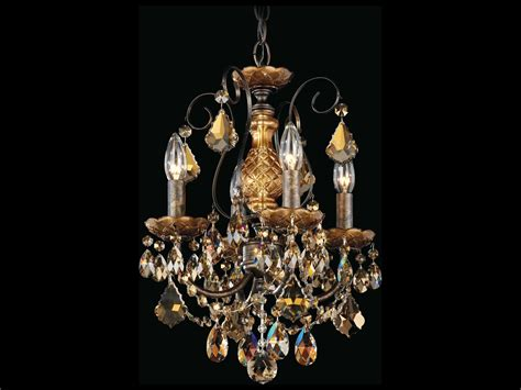 Chandeliers For Less by Schonbek New Orleans Four Light 12 Wide Mini Chandelier