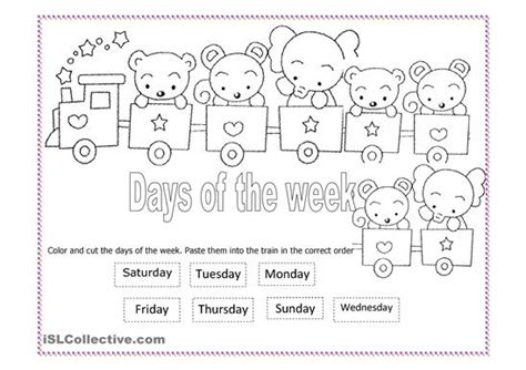 9 best images of printable days of the week days