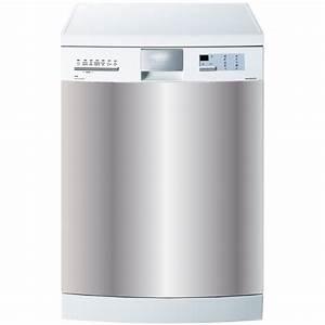 Petit Lave Vaisselle Pas Cher : stickers lave vaisselle uni po le cuisine inox ~ Dailycaller-alerts.com Idées de Décoration