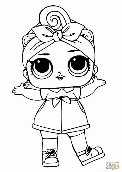 Coloring Lol Doll Pages Surprise Printable Drawing