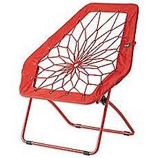 amazon com bunjo hex bungee chair red