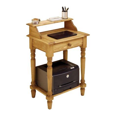 petit meuble bureau bureau informatique 1 tiroir naturel interior 39 s