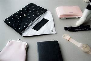 Pochette En Tissu : diy jeanette la pochette enveloppe moukita ~ Farleysfitness.com Idées de Décoration