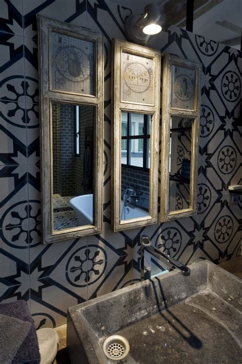 carreau salle de bain 36 id 233 es d 233 co avec des motifs carreaux de ciment
