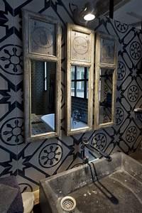 Carreaux De Ciment Salle De Bain : 36 id es d co avec des motifs carreaux de ciment ~ Melissatoandfro.com Idées de Décoration