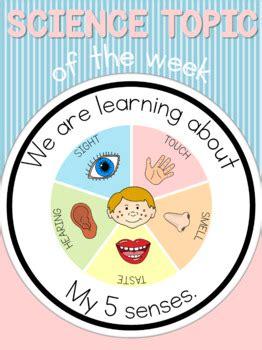 science topic   week poster  senses   blue