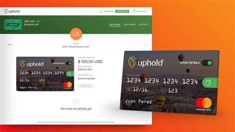virtual mastercard accepted  uphold uphold blog