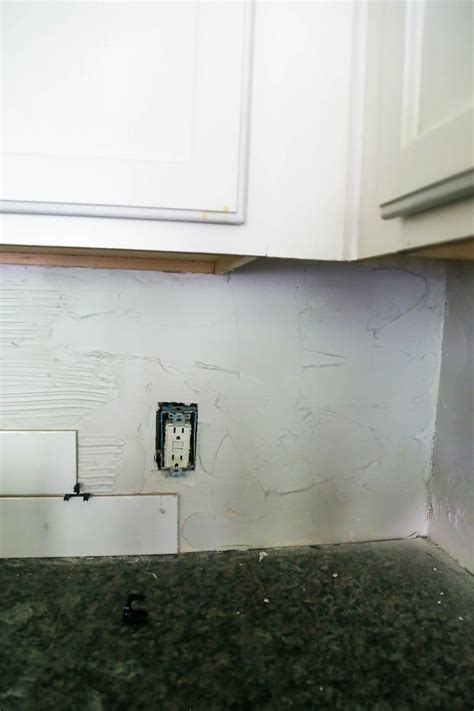 kitchen backsplash installation tips how to install a subway tile backsplash tips tricks 5046