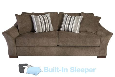 Microfiber Queen Sleeper Sofa by Hannah Microfiber Queen Sleeper Sofa