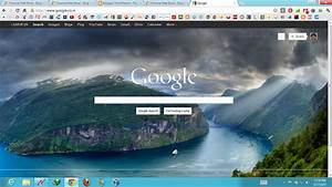 Google Homepage Wallpaper