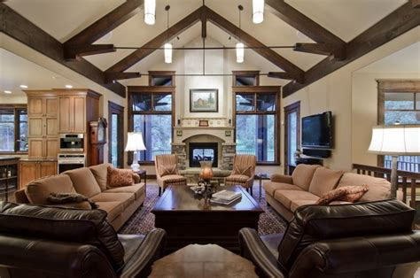 Decorating Ideas For Vaulted Ceiling Living Rooms by 55 Unique Cathedral And Vaulted Ceiling Designs In