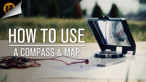 How To Use A Compass & Map [compass Navigation Tutorial] Youtube