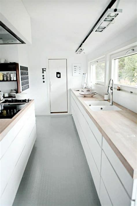 cuisine blanche sol gris 53 variantes pour les cuisines blanches