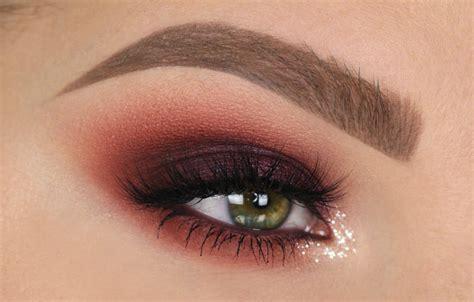 maroon smokey eye fall makeup tutorial makeup maqui