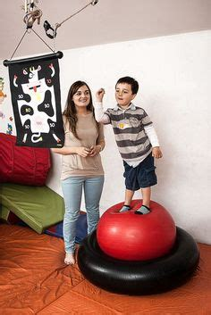 vestibular activities images sensory activities