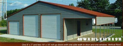 metal carport garage  steel storage building