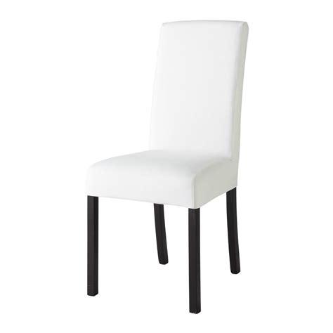 maison du monde housse de chaise housse de chaise en coton ivoire margaux maisons du monde