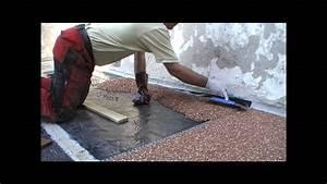 Steinteppich Verlegen Aussen : gestaltung einer kiesel terrasse mit durchsichtigem kunststoff epoxidharz garten wege ~ Eleganceandgraceweddings.com Haus und Dekorationen