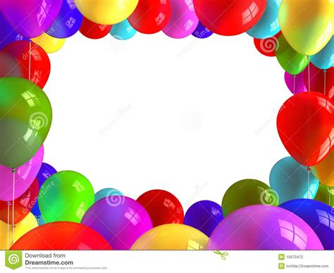 a frame plans balloons frame stock photography image 15670472
