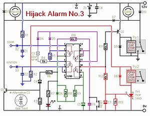 How To Build Vehicle Anti-hijack Alarm No3
