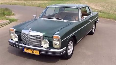 mercedes w114 coupe mercedes w114 coupe 1971