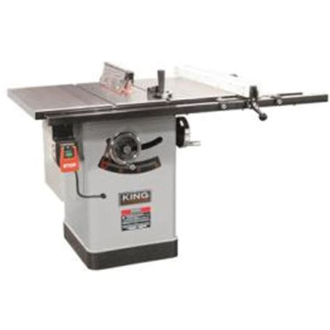 Cabinet Table Saw Canada by King 10 Quot Cabinet Saw 30 Quot Fence