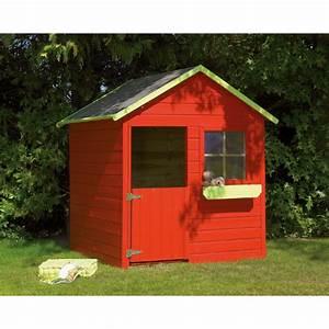 Maison Jardin Pour Enfant : maison de jardin en bois pour enfant cabane kangou avec ~ Premium-room.com Idées de Décoration