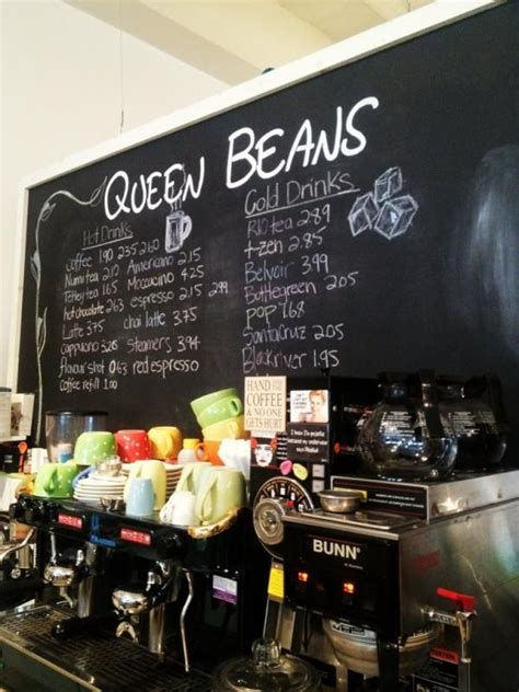 Countries including china, guam, and cyprus are home to several of coffee beanery's locations outside of the united states. Queen Beans coffee shop is located at the front of the ...