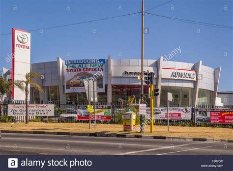 Toyota Car Dealership by Johannesburg South Africa Toyota Car Dealership On